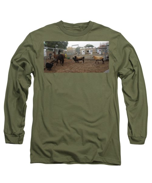 Christmas Petting Farm Long Sleeve T-Shirt