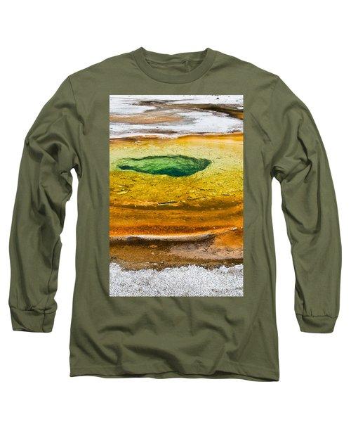 Chromatic Pool Vertical Long Sleeve T-Shirt