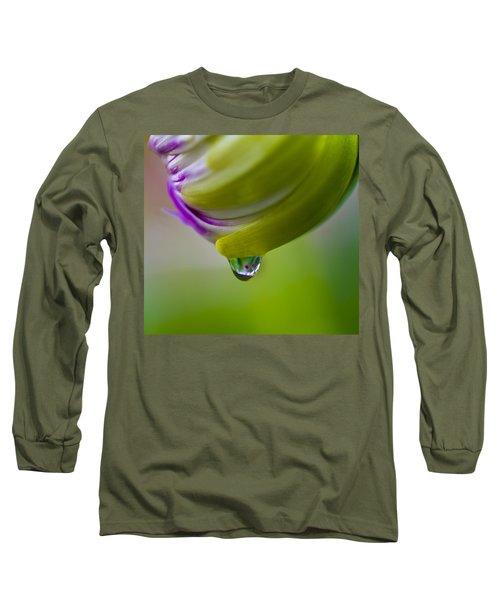Raindrop Bud Long Sleeve T-Shirt