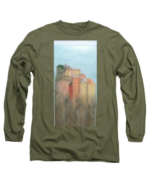 Cinque Terre Long Sleeve T-Shirt by Steve Mitchell