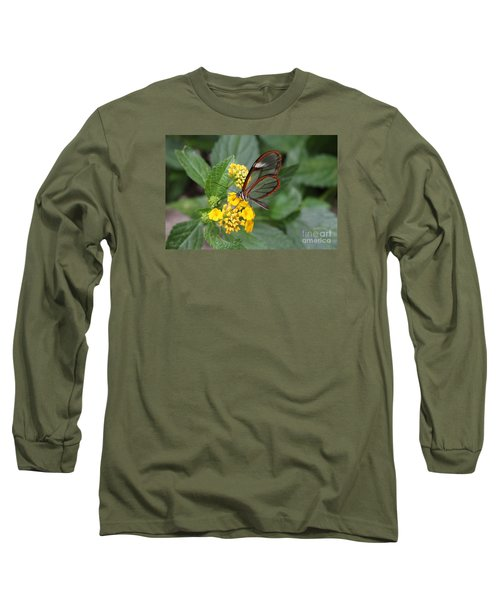 Clearwing Butterfly Long Sleeve T-Shirt