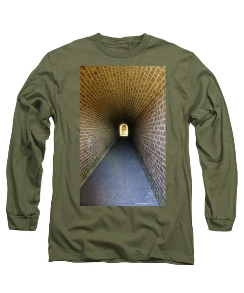 Clinch Hall Long Sleeve T-Shirt by Laurie Perry