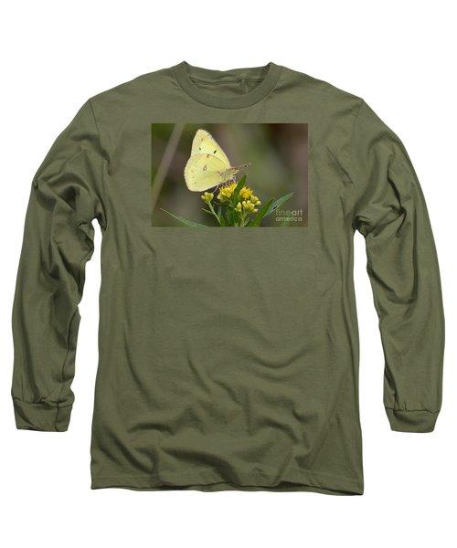 Clouded Sulphur Long Sleeve T-Shirt