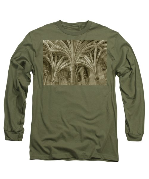 Cluny Museum Ceiling Detail Long Sleeve T-Shirt