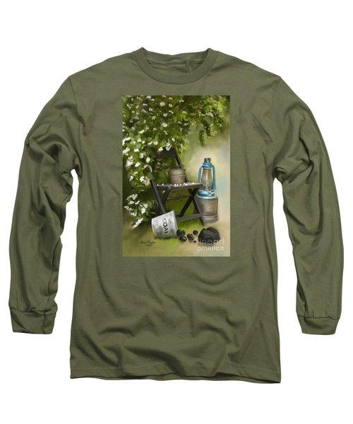 Coal Long Sleeve T-Shirt by Lena Auxier