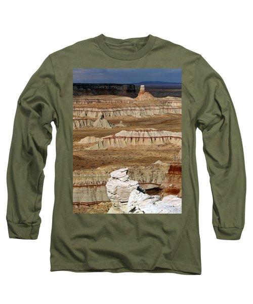 Coal Mine Mesa 19 Long Sleeve T-Shirt by Jeff Brunton