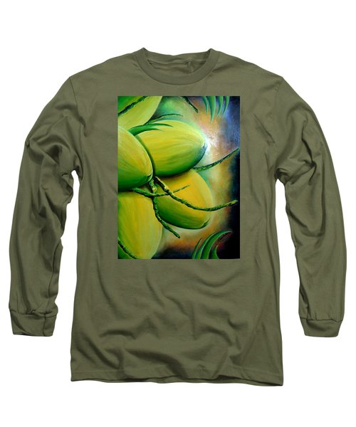 Coconut In Bloom Long Sleeve T-Shirt