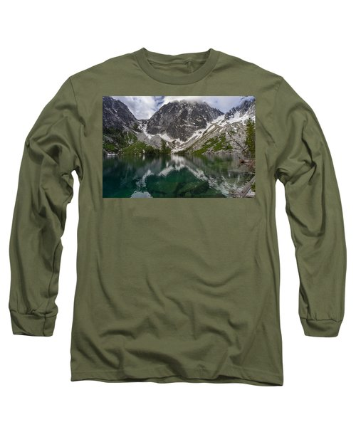Colchuck Lake Clear Waters Long Sleeve T-Shirt