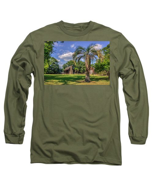 Colonial Paradise Long Sleeve T-Shirt by Rob Sellers