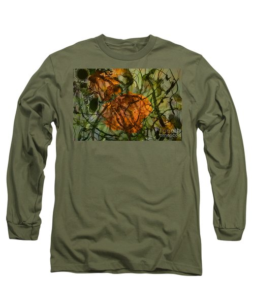 Color Abstraction Xx Long Sleeve T-Shirt by David Gordon