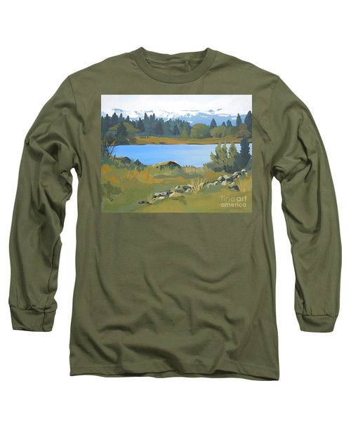 Colorado Mountains Long Sleeve T-Shirt