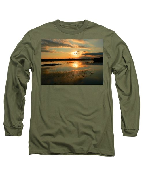 Long Sleeve T-Shirt featuring the photograph Colorful Light by Rosalie Scanlon
