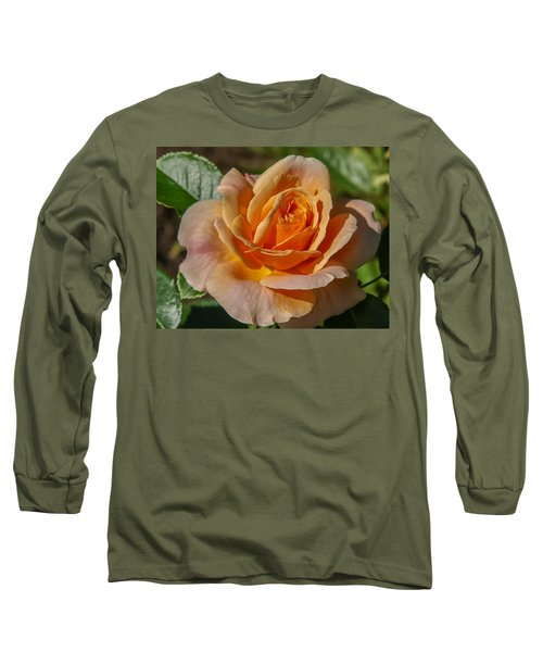 Colorful Rose Long Sleeve T-Shirt