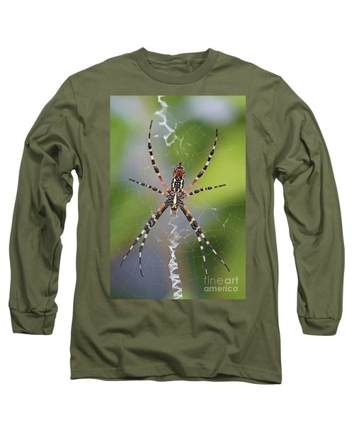 Colorful Spider Long Sleeve T-Shirt