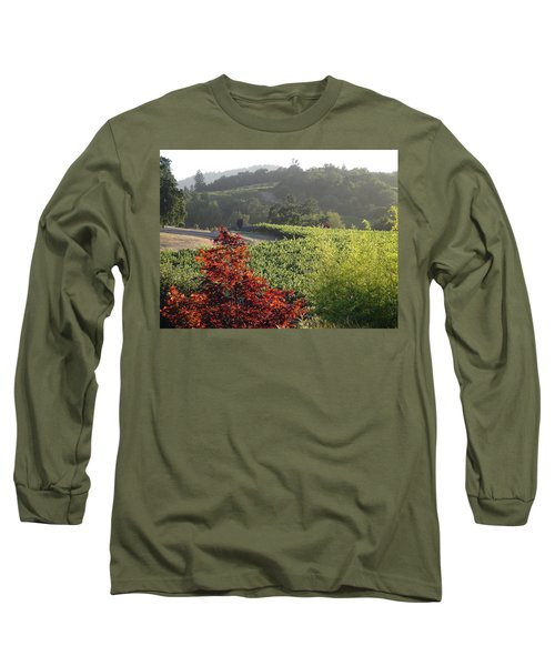 Long Sleeve T-Shirt featuring the photograph Colors Of Cali by Shawn Marlow