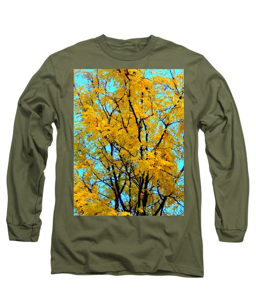 Colors Of Fall - Smatter Long Sleeve T-Shirt