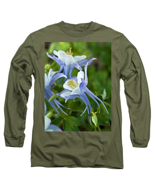 Columbine-2 Long Sleeve T-Shirt by Charles Hite