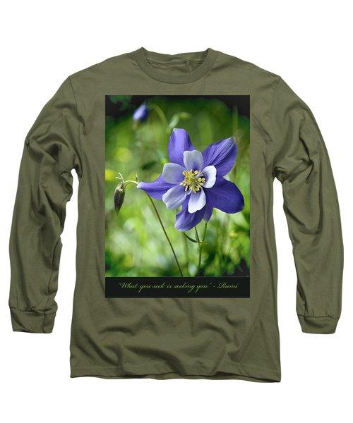Columbine Card  Long Sleeve T-Shirt
