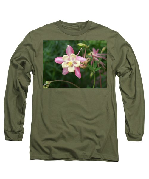 Long Sleeve T-Shirt featuring the photograph Columbine by Kathryn Meyer