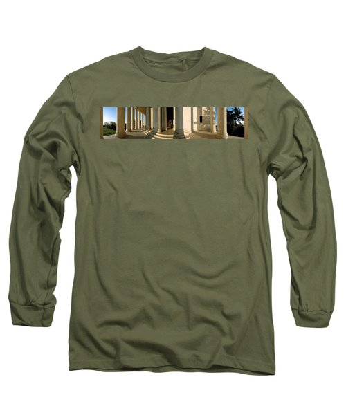 Columns Of A Memorial, Jefferson Long Sleeve T-Shirt by Panoramic Images