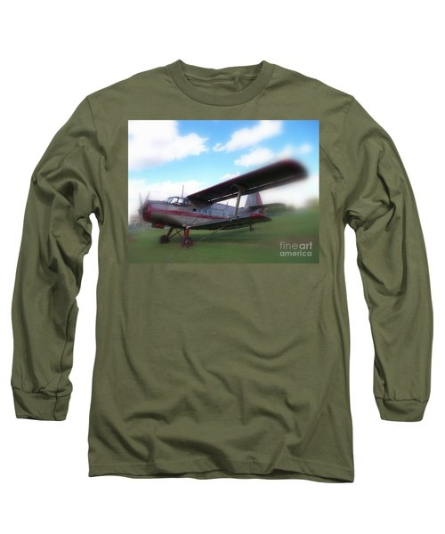 Come Fly With Me Long Sleeve T-Shirt by Lingfai Leung