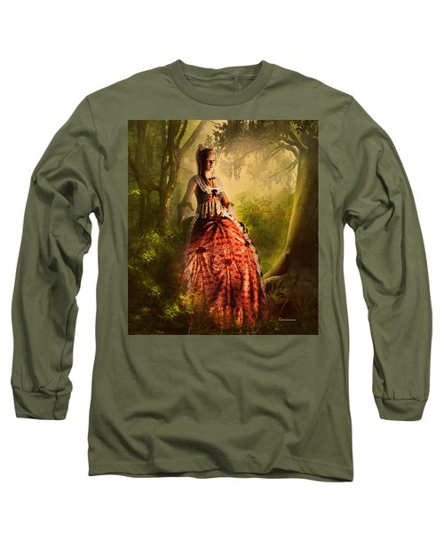 Come To Me In The Moonlight Long Sleeve T-Shirt