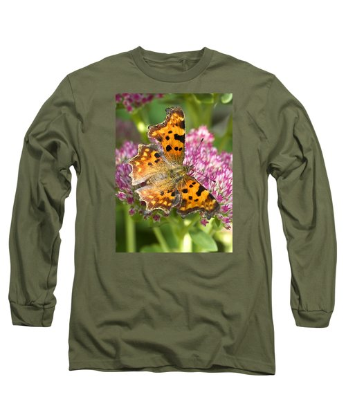 Comma Butterfly Long Sleeve T-Shirt by Richard Thomas