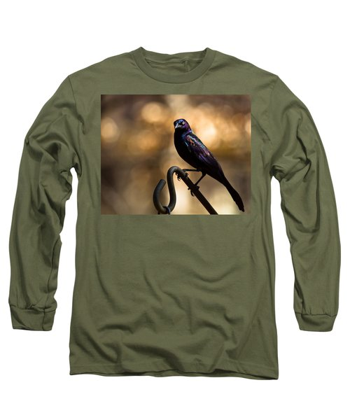 Common Grackle Long Sleeve T-Shirt