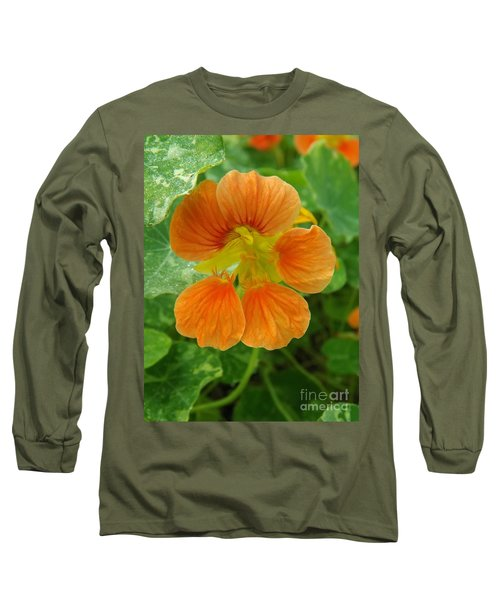 Common Nasturtium Long Sleeve T-Shirt