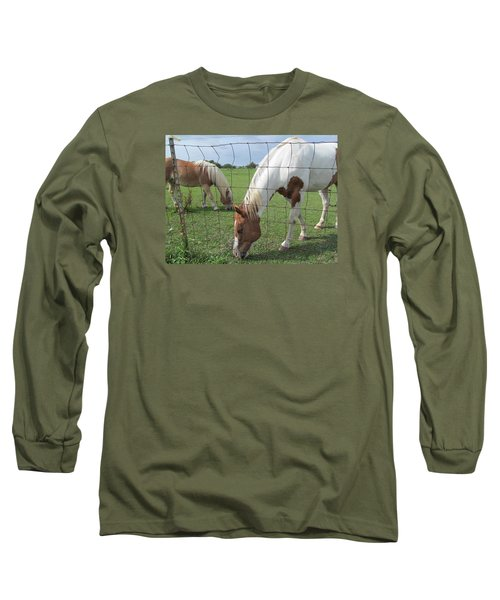 Long Sleeve T-Shirt featuring the photograph Company Of Two by Tina M Wenger