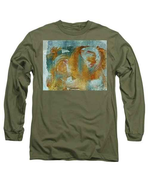 Composix 02a - V1t27b Long Sleeve T-Shirt by Variance Collections