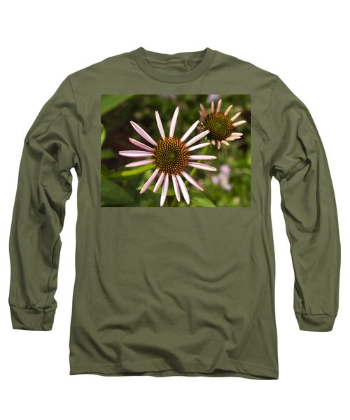 Cone Flower - 1 Long Sleeve T-Shirt