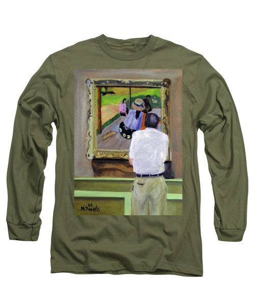 Contemplating Gauguin Long Sleeve T-Shirt
