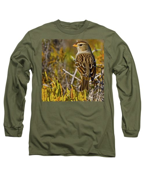 Long Sleeve T-Shirt featuring the photograph Contemplating The Day by Gary Holmes