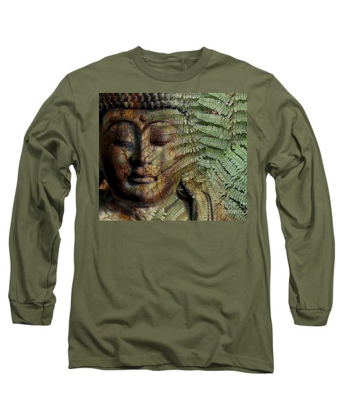Convergence Of Thought Long Sleeve T-Shirt by Christopher Beikmann