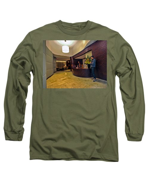 Cooper Lobby Long Sleeve T-Shirt by Steve Sahm