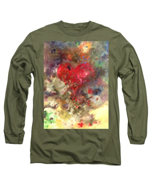 Corazon Long Sleeve T-Shirt by Julio Lopez