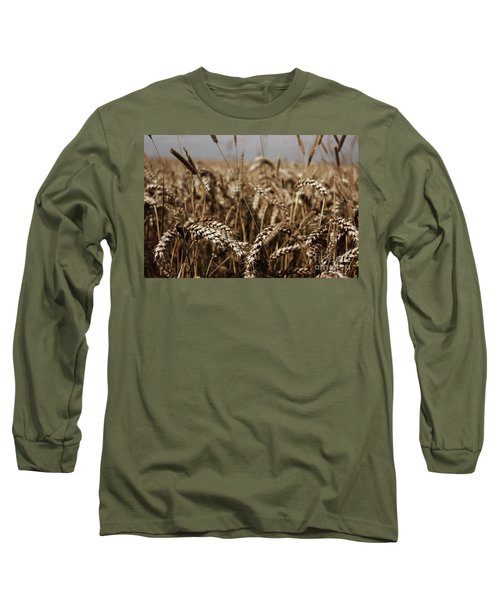 Corn Field Long Sleeve T-Shirt by Vicki Spindler