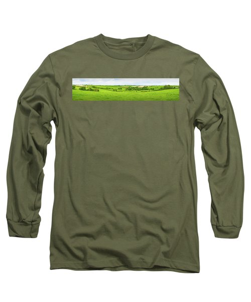 Cornwall Panorama Color Long Sleeve T-Shirt