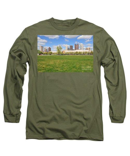 D7l-89 Cosi Columbus Photo Long Sleeve T-Shirt