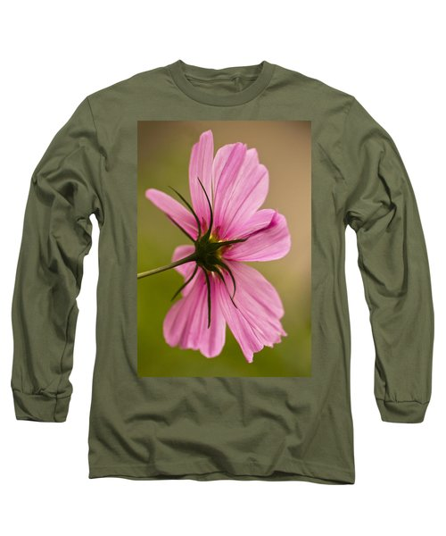Cosmos In Pink Long Sleeve T-Shirt