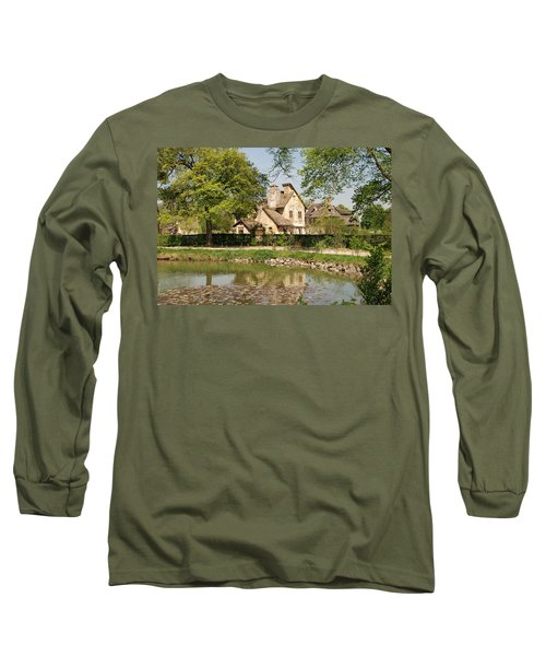 Cottage In The Hameau De La Reine Long Sleeve T-Shirt