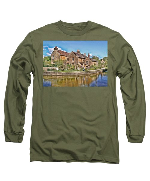 Cottages At Avoncliff Long Sleeve T-Shirt