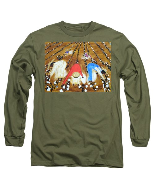 Cotton Picking People Long Sleeve T-Shirt