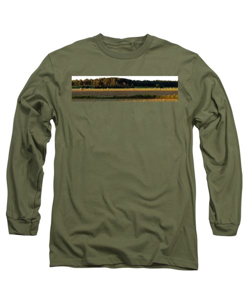Country Bales  Long Sleeve T-Shirt