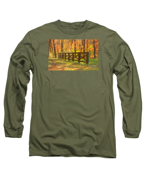 Long Sleeve T-Shirt featuring the photograph Country Fence by Geraldine DeBoer