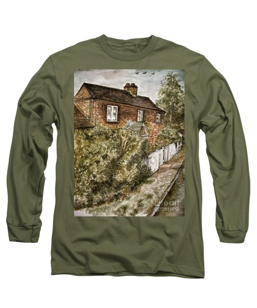 Old English Cottage Long Sleeve T-Shirt