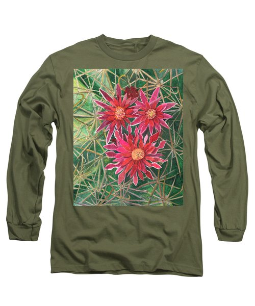 Coville Barrel Blossoms Long Sleeve T-Shirt