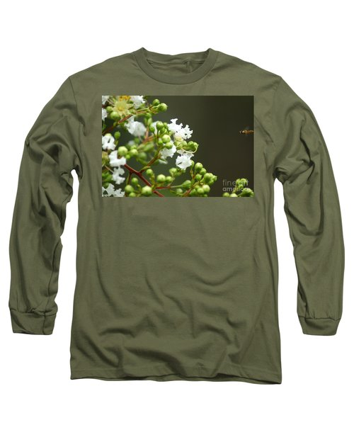 Crape Myrtle Long Sleeve T-Shirt