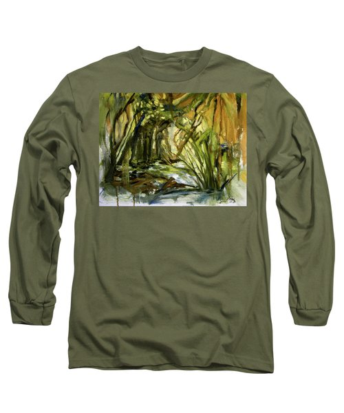 Creek Levels With Overhang Long Sleeve T-Shirt